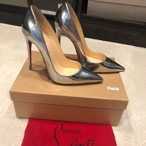 Christian Louboutins So Kate in Silver